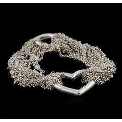 Tiffany & Co. Heart Bracelet - Silver
