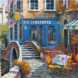 Outdoor Cafe by Anatoly Metlan