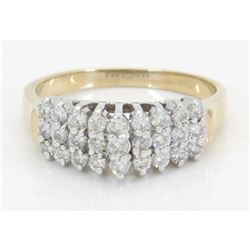 0.54ctw Diamond Ring - 14KT Yellow Gold