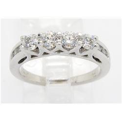 0.68ctw Diamond Ring - 14KT White Gold