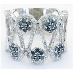 1.39ctw Diamond Ring - 14K White Gold