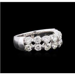 1.23ctw Diamond Ring - 14KT White Gold