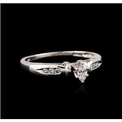 Platinum 0.25ctw Diamond Ring
