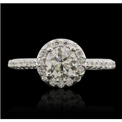 14KT White Gold 1.43ctw Diamond Ring