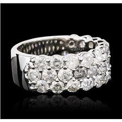 14KT White Gold 3.36ctw Diamond Ring