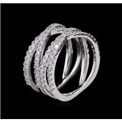 1.33ctw Diamond Ring - 14KT White Gold