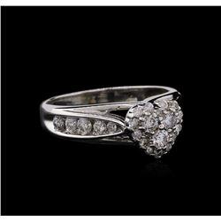 0.67ctw Diamond Ring - 14KT White Gold