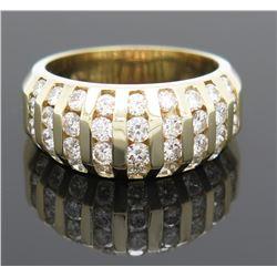 1.57ctw Diamond Ring - 14KT Yellow Gold