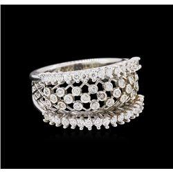 0.62ctw Diamond Ring - 14KT White Gold