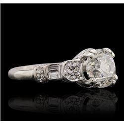 14KT White Gold 2.41ctw Diamond Ring