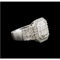 2.50ctw Diamond Ring - 10KT White Gold
