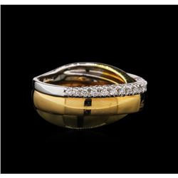 0.23ctw Diamond Ring - 18KT Two-Tone Gold