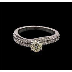 1.06ctw Diamond Ring - 14KT White Gold