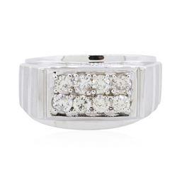 14KT White Gold 0.79ctw Diamond Ring