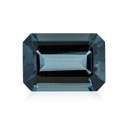 40.23ctw. Natural Emerald Cut Blue Topaz