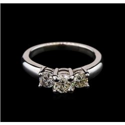 0.99ctw Diamond Ring - 14KT White Gold