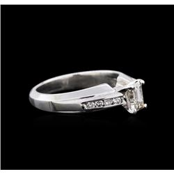 0.75ctw Diamond Ring - Platinum