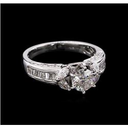 1.57ctw Diamond Ring - 18KT White Gold