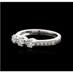 18KT White Gold 0.50ctw Diamond Ring