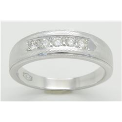 0.25ctw Diamond Ring - 14K White Gold