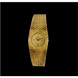 Zodiac 14KT Yellow Gold Vintage Watch