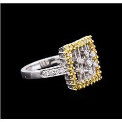 1.25ctw Diamond Ring - 18KT Two-Tone Gold