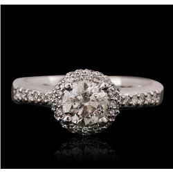14KT White Gold 1.41ctw Diamond Ring
