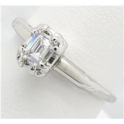 0.29ct Diamond Ring - 14KT White Gold