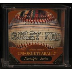 Unforgettaball!  Crosley Field  Nostalgia Series Collectable Baseball