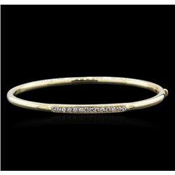 14KT Yellow Gold 0.35ctw Diamond Bracelet