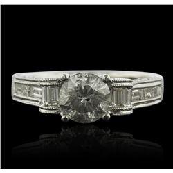 18KT White Gold 2.02ctw Diamond Ring