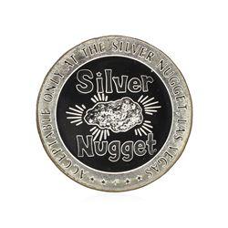 1967 $5 Las Vegas Sterling Silver Gaming Token