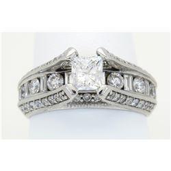2.00ctw Diamond Ring - 14K White Gold