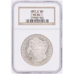 1881-S NGC MS66 Morgan Silver Dollar