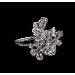 2.70ctw Diamond Ring - 18KT White Gold