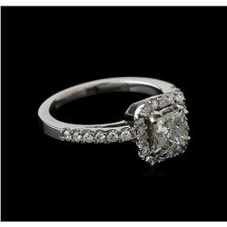 14KT White Gold 1.13ctw Diamond Ring