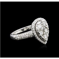 14KT White Gold 1.13ctw Diamond Ring