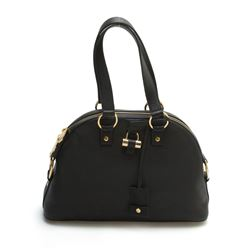 Yves Saint Laurent YSL Muse Medium Black Leather Handbag