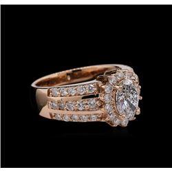 2.12ctw Diamond Ring - 14KT Rose Gold