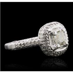 14KT White Gold 1.78ctw Diamond Ring