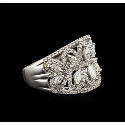 1.79ctw Diamond Ring - 14KT White Gold
