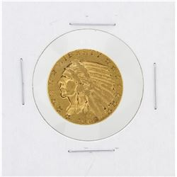 1909-S $5 XF Indian Head Half Eagle Gold Coin