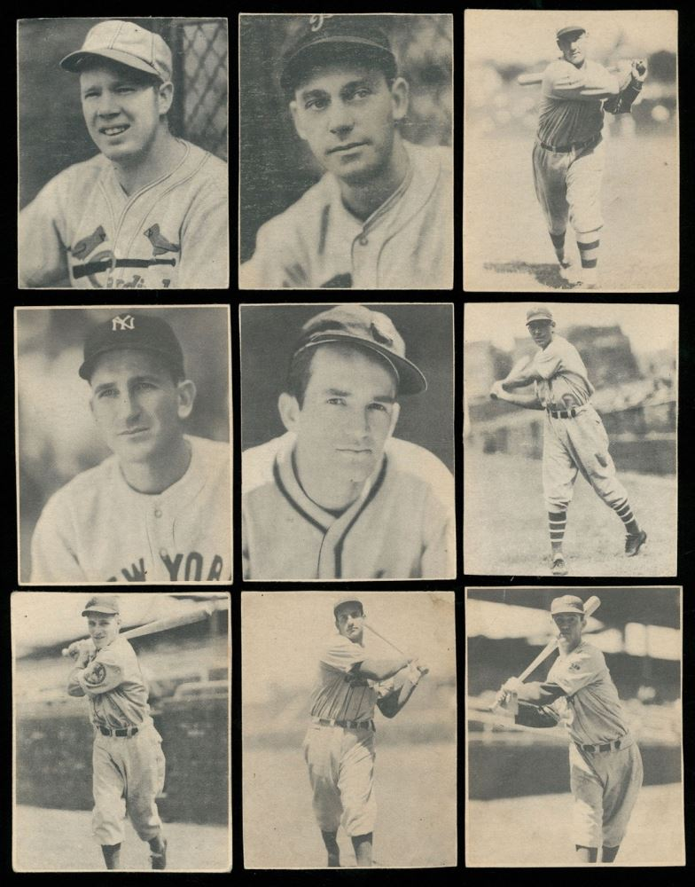 Lot Of 9 1939 Play Ball Baseball Cards With 157 Don Padgett 33