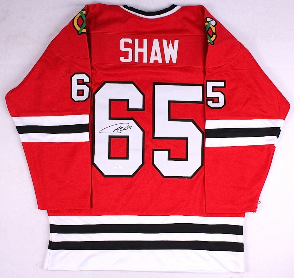 outlet store 48f1a f078f Andrew Shaw Signed Blackhawks Jersey (JSA COA)