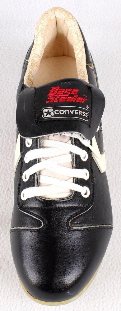 344288e83908 ... Image 3   Reggie Jackson Signed Vintage Converse Baseball Cleat with Display  Case (PSA COA ...