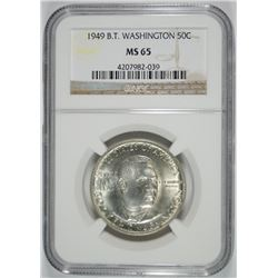 1949 BOOKER T WASHINGTON COMMEM NGC MS65