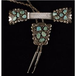 Old Pawn Navajo Turquoise Bolo & Watchband
