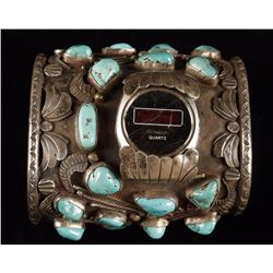 Massive Old Pawn Watchband Cuff