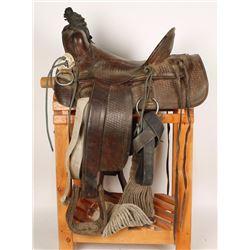 Heiser Western Saddle
