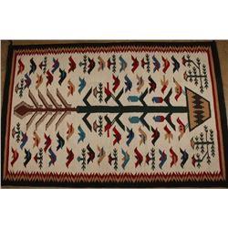 Large Beautiful Navajo Textile Weaving